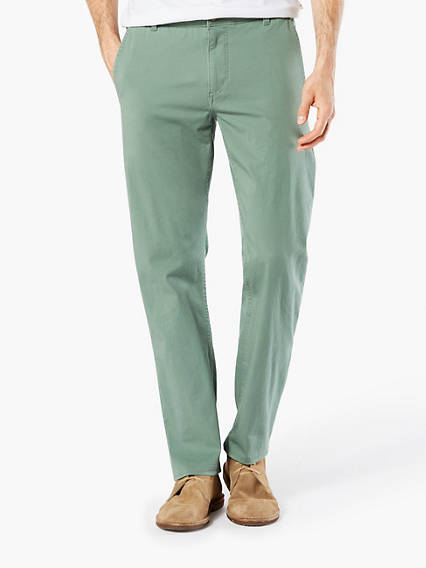 ALPHA KHAKI WITH SMART 360 FLEX, SLIM TAPERED FIT - LIGHTWEIGHT
