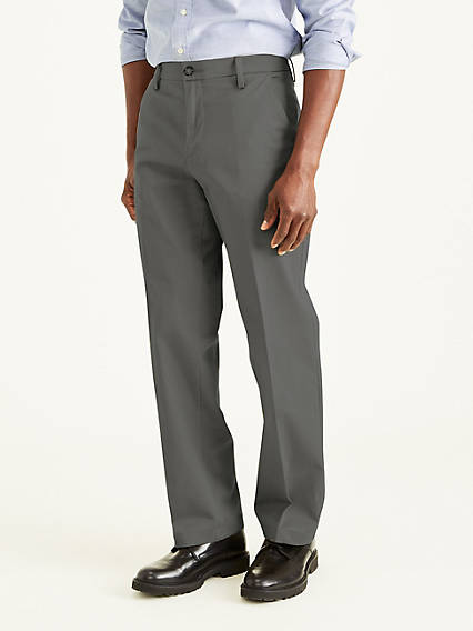 Workday Khaki With Smart 360 Flex, Classic Fit