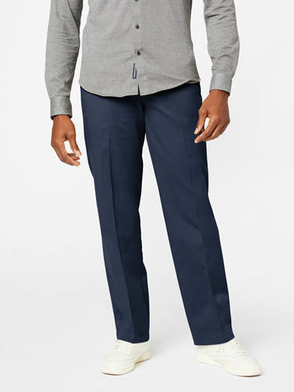Workday Khaki Pants With Smart 360 Flex™, Classic Fit
