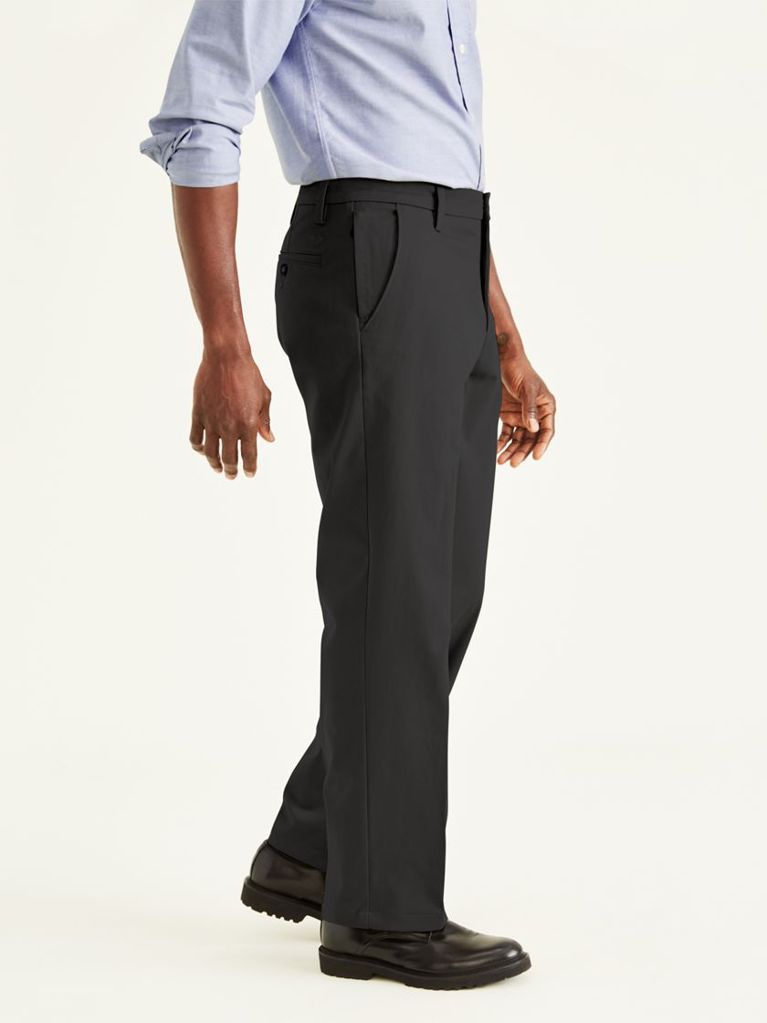 Workday Khakis, Classic Fit - Black 399830006 | Dockers® US