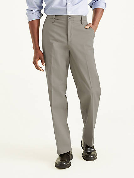 Workday Khaki With Smart 360 Flex™, Classic Fit