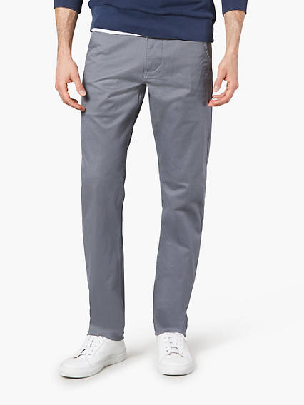 DOCKERS® ALPHA KHAKI, SLIM TAPERED - STRETCH TWILL