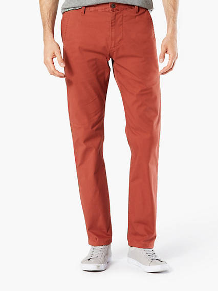 DOCKERS® ALPHA KHAKI, SLIM TAPERED - LIGHTWEIGHT STRETCH TWILL