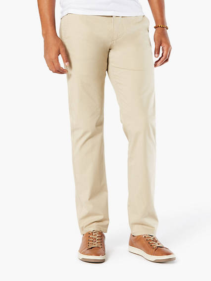 Dockers® Khaki, Slim Tapered - Stretch Lightweight Twill