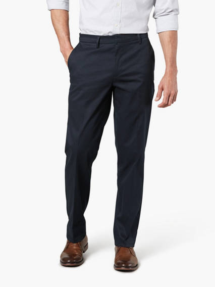 Signature Iron Free Khaki Pants, Straight Fit