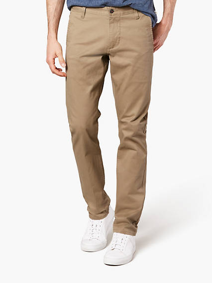 Dockers® Kaki Alpha extensible, Filiforme fuselé
