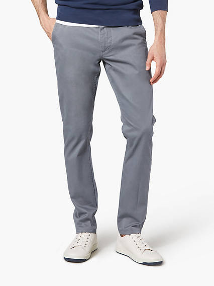Alpha Chino, Skinny Tapered Fit - Stretch Twill