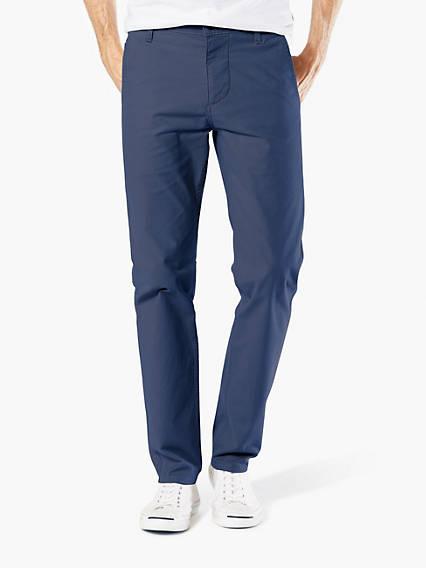Dockers® Alpha Khaki, Skinny Tapered  - Textured Dobby