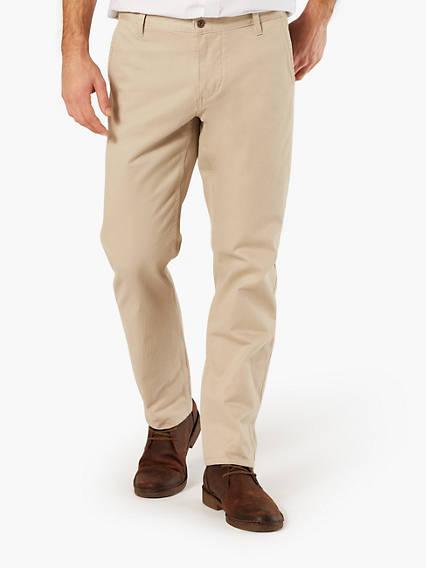 DOCKERS® ALPHA KHAKI, ATHLETIC TAPERED  - STRETCH TWILL
