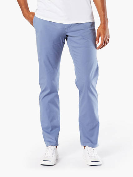 Dockers® Alpha Khaki, Athletic Tapered - Stretch Lightweight Twill