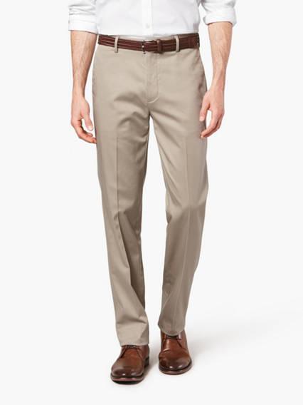 Wrinkle Free Khaki Pants, Slim Fit
