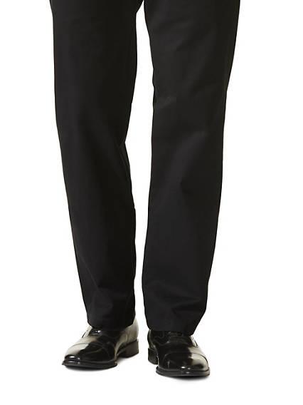 Marina Khaki Pants, Straight Fit