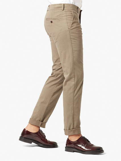 Creased Chino, Extra Slim Fit