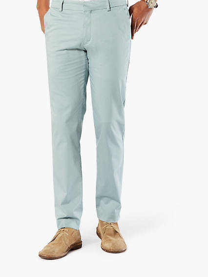 Creased Chino Insignia, Extra Slim - Stretch Sateen