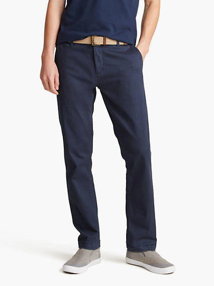 Washed Chino, Slim Tapered Fit - Stretch Twill