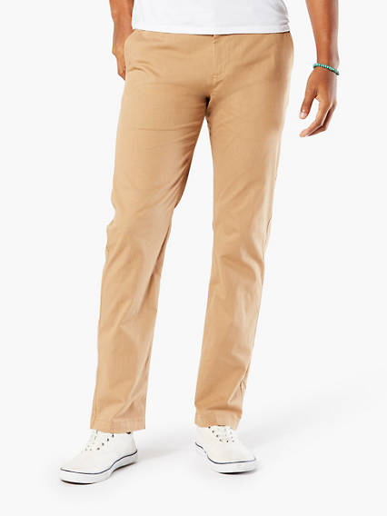 Washed Khaki Slim Tapered Fit