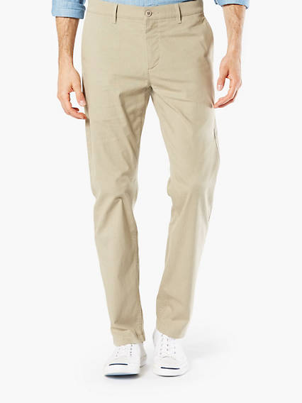 Washed Khaki, Slim Tapered Fit, Lightweight