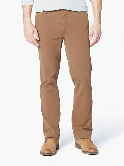 Downtime Khaki With Smart 360 Flex™, Slim Tapered Fit