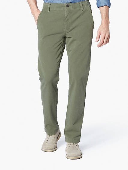 Downtime Khaki With Smart 360 Flex, Slim Tapered Fit