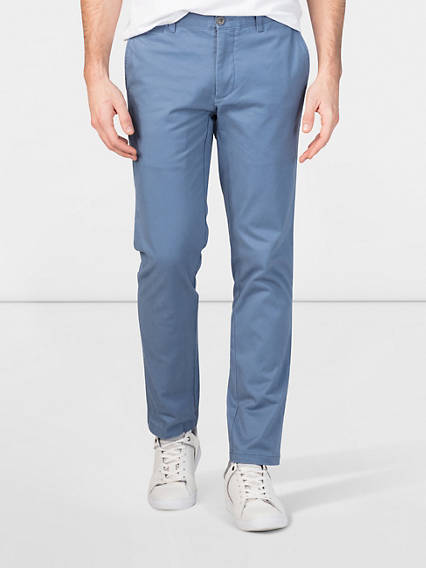 Refined Chino, Marina, Extra Slim Fit- Stretch Twill