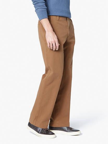 special promotion street price clearance prices Men's Downtime Khaki Pants, Straight Fit - Brown 476980001 ...