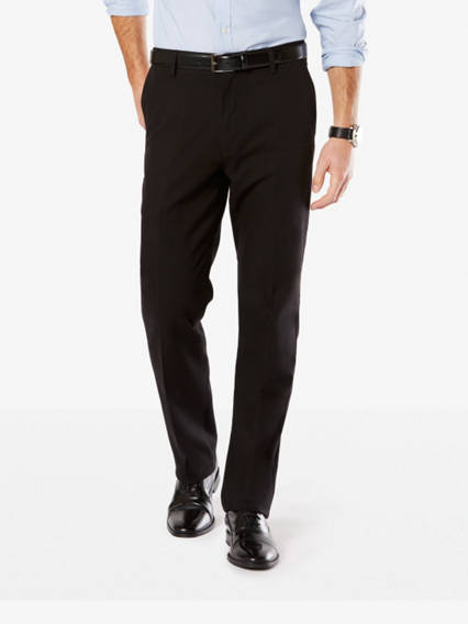 Men's Signature Stretch Khaki Pants, Straight Fit