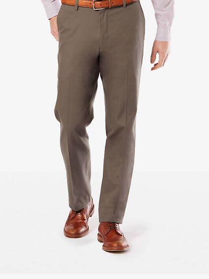 Signature Stretch Khaki, Straight Fit