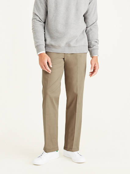 Big & Tall Workday Khaki Pants With Smart 360 Flex™, Classic Fit