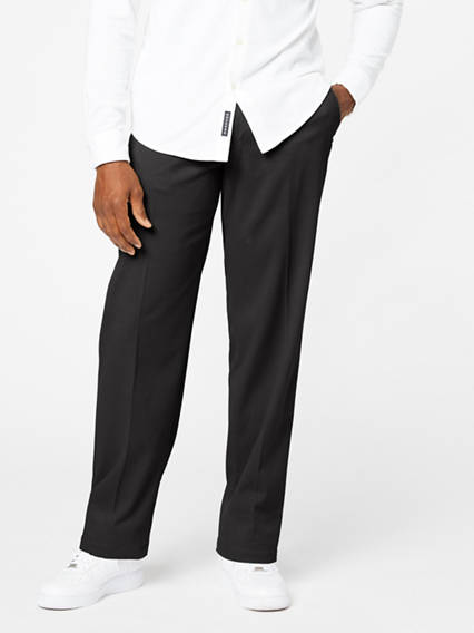 Men's Easy Stretch Khaki Pants, Relaxed Fit