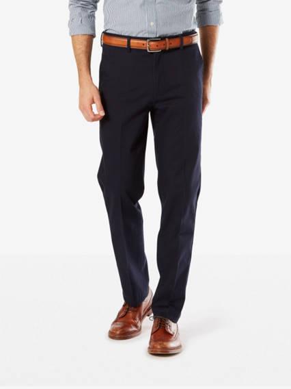Signature Stretch Khaki Pants, Slim Fit