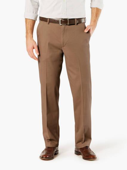 Comfort Khaki Pants, Classic Fit