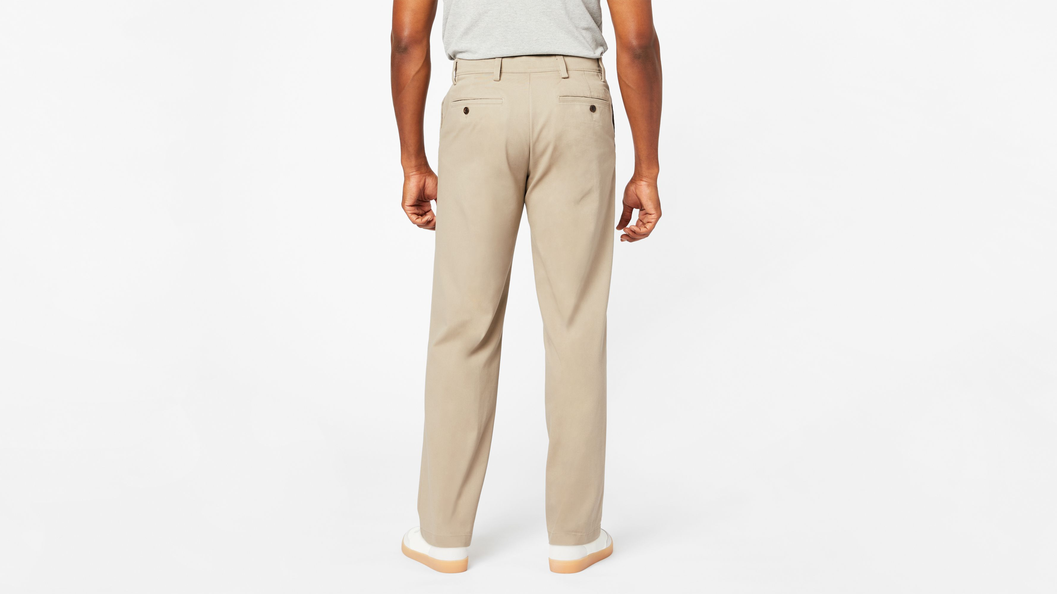 714179ae3dd8 Comfort Khaki Pants, Relaxed Fit - Tan 478740002 | Dockers® US