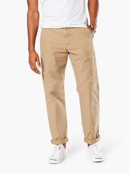 Dockers® Alpha Khaki Pants Crop, Straight Fit