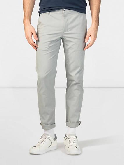 Refined Khaki, Extra Slim - Lightweight Texture
