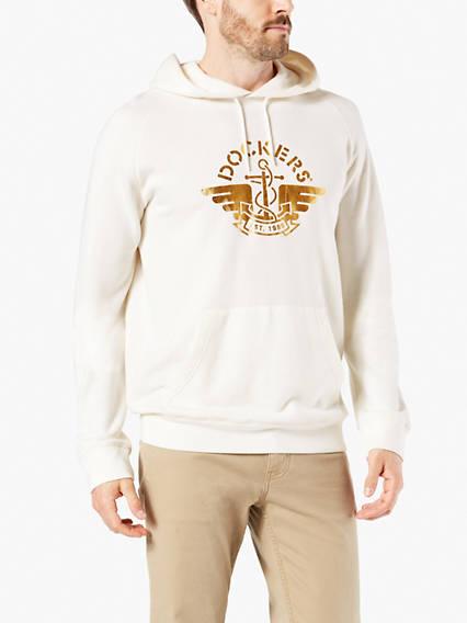 Men's Raglan Pullover Hoodie