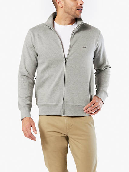 Full Zip Sweatshirt With Smart 360 Flex