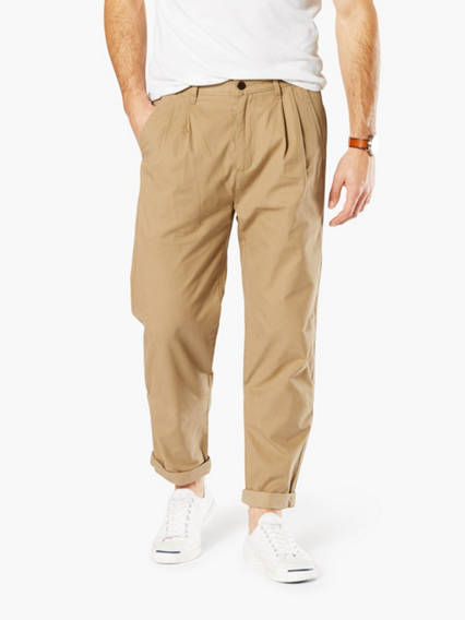 Dockers® Alpha Khaki Pants Double Pleated Crop