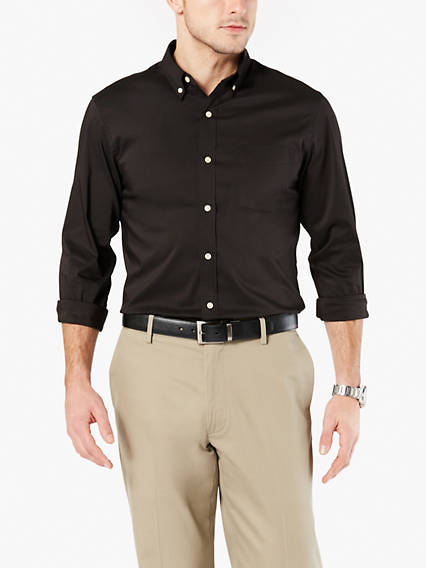 Signature Comfort Flex, Button Down Shirt, Classic fit