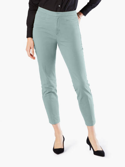 High Rise Pants, Skinny Fit