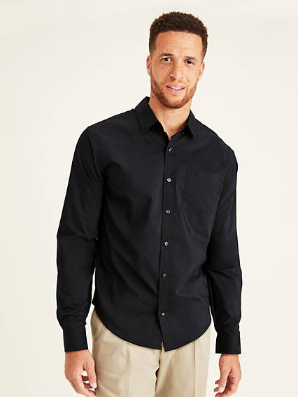 Big and Tall Signature Comfort Flex, Button Down Shirt