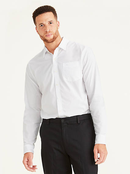Men's Big & Tall Signature Comfort Flex, Button Down Shirt