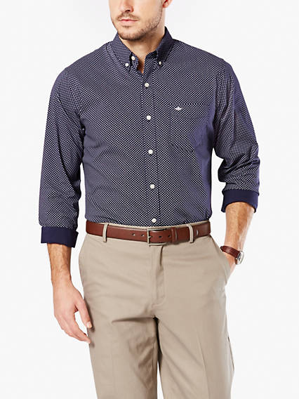 Big & Tall Soft No Wrinkle Shirt