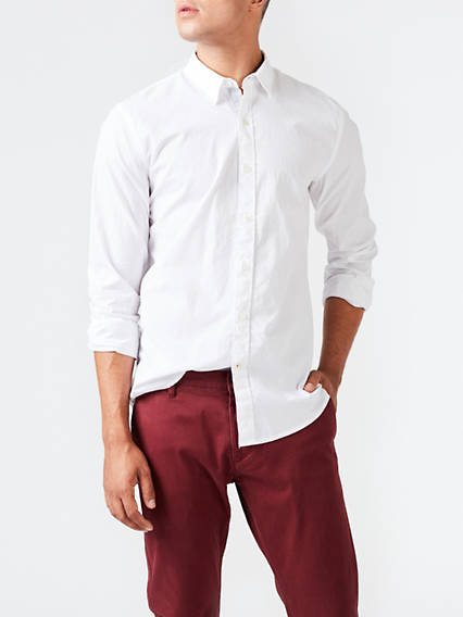 Standard Washed Poplin Slim