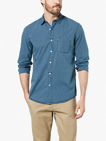 Laundered Poplin Shirt Gmd
