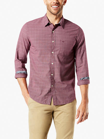 Laundered Poplin Shirt