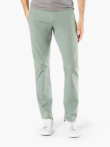 Alpha Khaki With Smart 360 Flex, Skinny - Lightweight