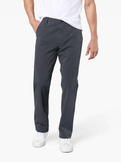 Big & Tall Downtime Khaki Pants With Smart 360 Flex™, Straight Fit