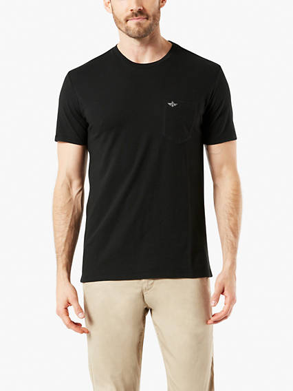 Soft Washed Pocket Tee Shirt, Standard Fit
