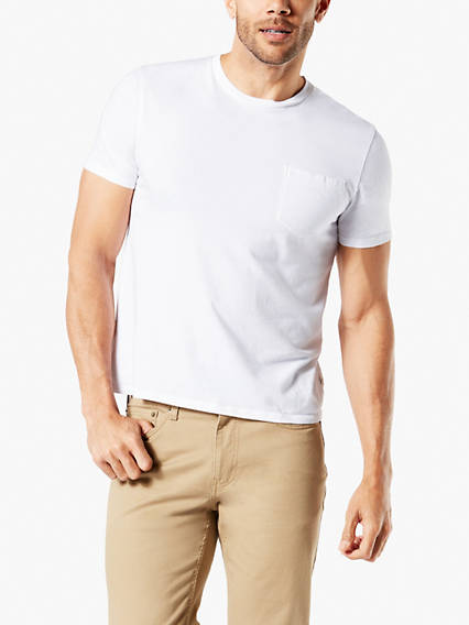 Men's Soft Washed Pocket Tee Shirt, Standard Fit