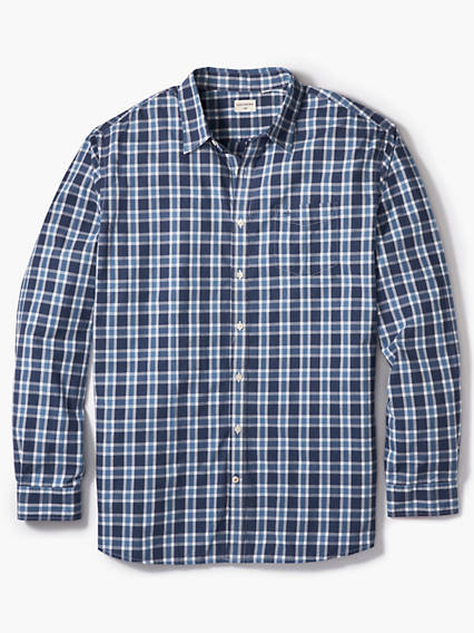Big & Tall Washed Poplin Shirt